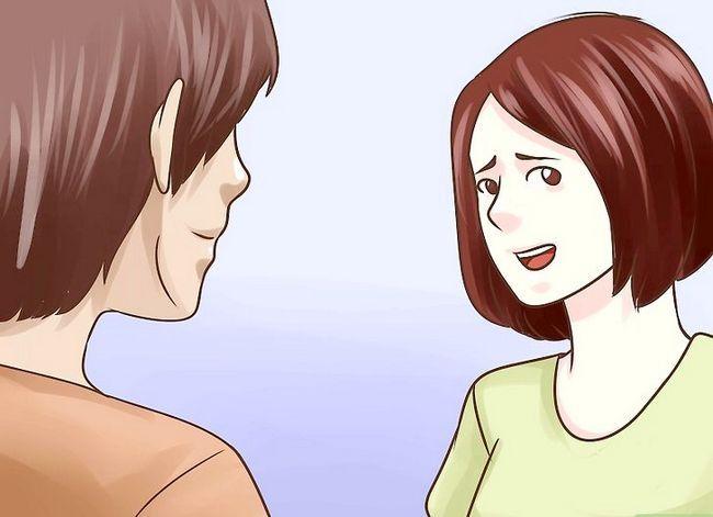 Prent getiteld Praat met jou geliefdes wanneer jy`re Nervous Step 4