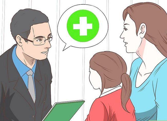 Prent getiteld Bespreking met `n outistiese kind Stap 11
