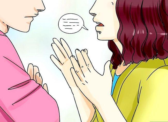 Prent getiteld Bespreking oor seks Stap 2