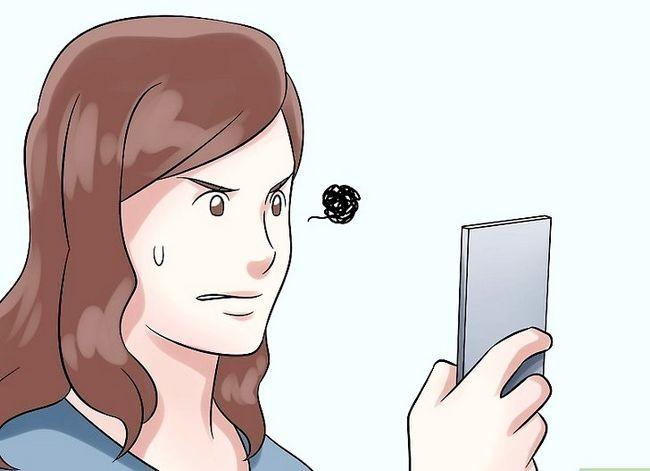 Prent getiteld Gesels met `n meisie deur SMS Stap 5 te druk