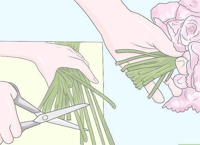 Prent getiteld Maak `n hand vasgebind trou boeket Stap 2
