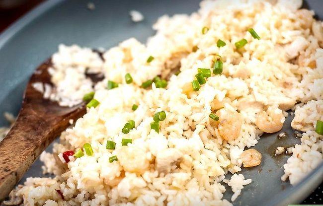 Prent getiteld Maak Fried Rice Stap 28