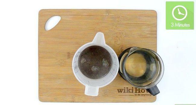 Prent getiteld Maak koffie sonder `n koffiemaker Stap 4