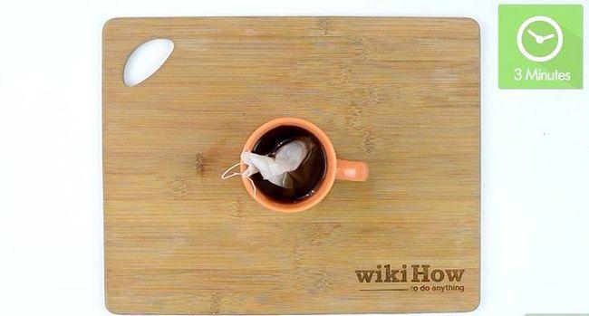 Prent getiteld Maak koffie sonder `n koffiemaker Stap 9