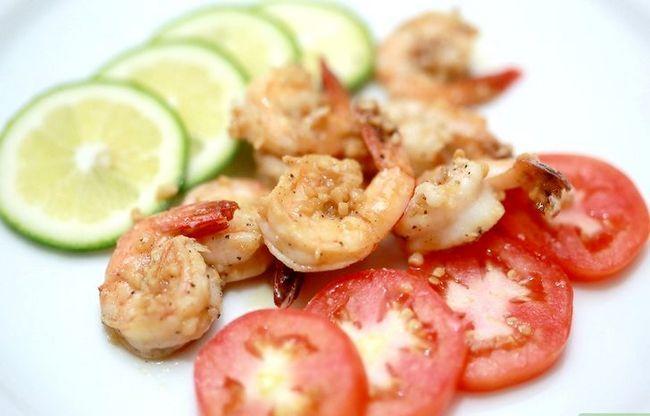Prent getiteld Saute Shrimp Finale