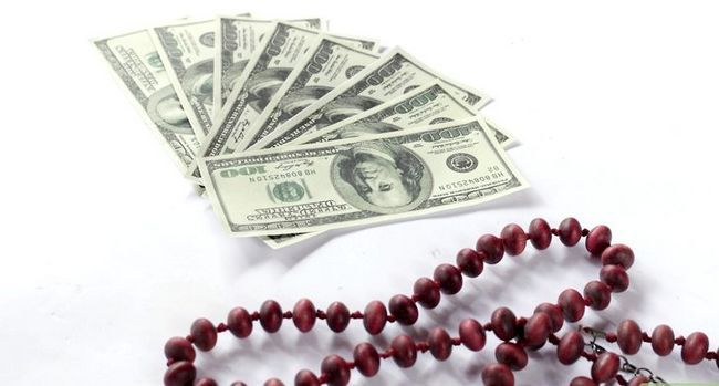Prent getiteld Make Money Leis Stap 1