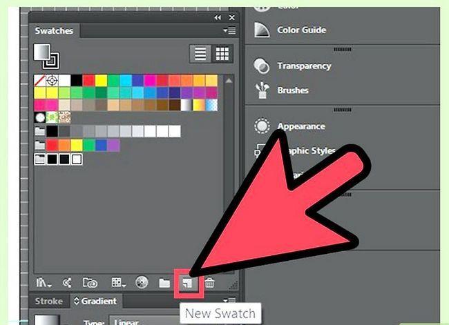 Prent getiteld Maak gradiënte in Adobe Illustrator Stap 3
