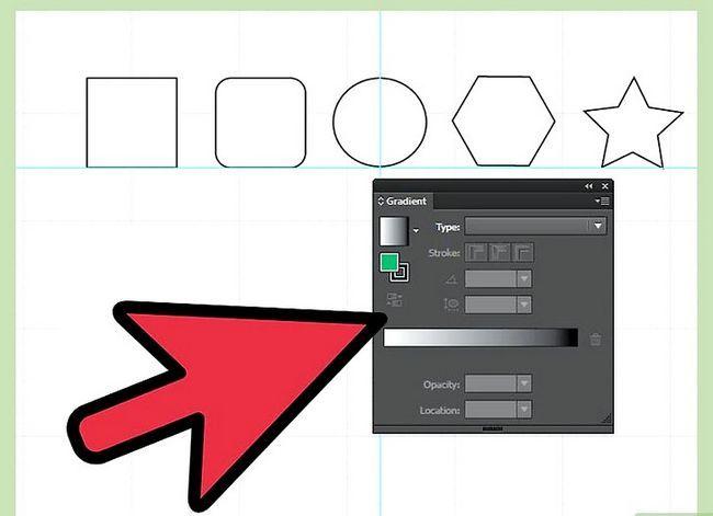 Prent getiteld Maak gradiënte in Adobe Illustrator Stap 5