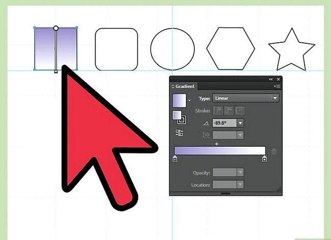 Prent getiteld Maak gradiënte in Adobe Illustrator Stap 6