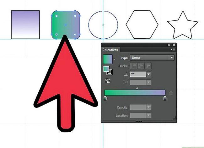 Prent getiteld Maak gradiënte in Adobe Illustrator Stap 7