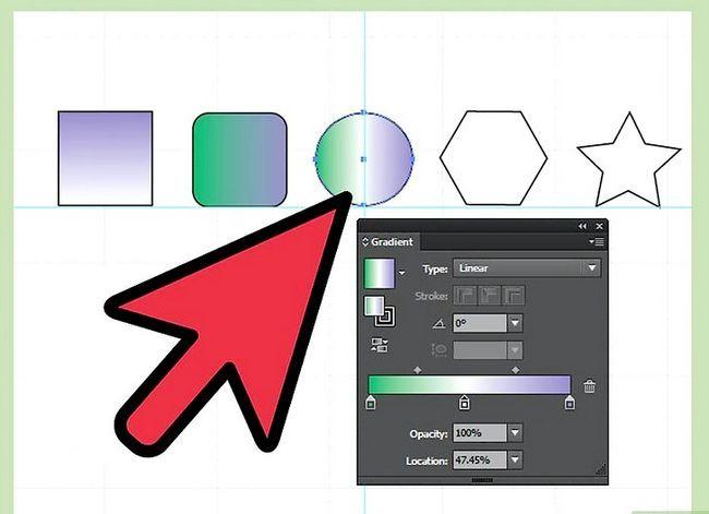Prent getiteld Maak gradiënte in Adobe Illustrator Stap 8