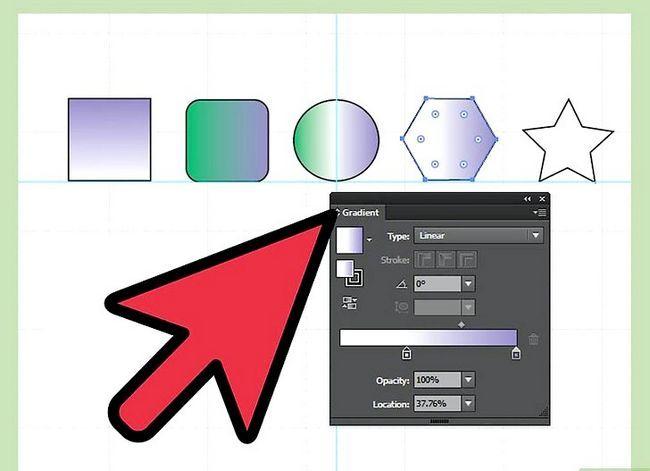 Prent getiteld Maak gradiënte in Adobe Illustrator Stap 9