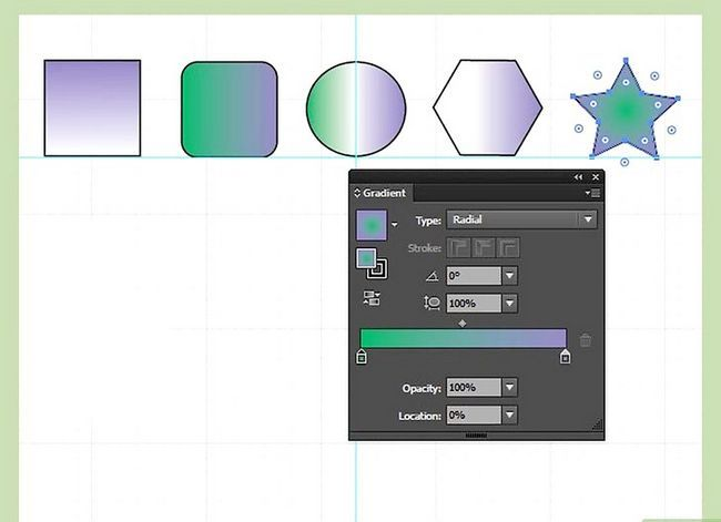 Prent getiteld Maak gradiënte in Adobe Illustrator Stap 10