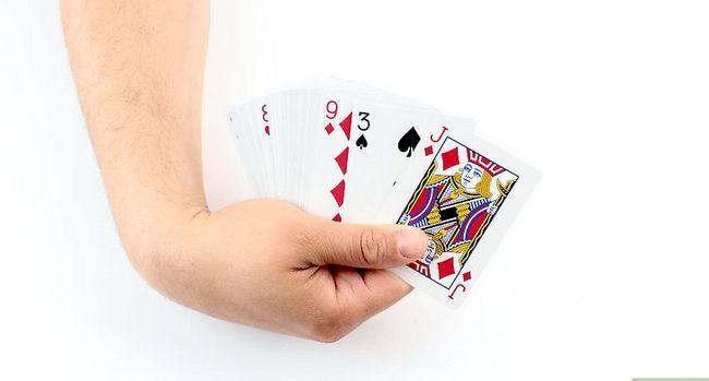 Prent getiteld Doen die Cops and Robbers Card Trick Stap 1