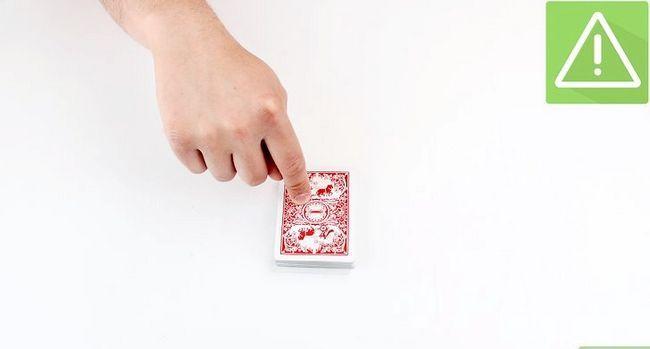 Prent getiteld Doen die Cops and Robbers Card Trick Stap 3