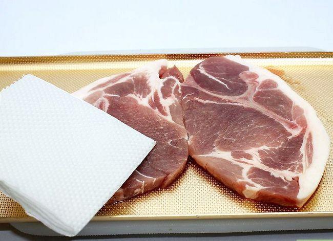 Prent getiteld Charcoal Grill Steaks Stap 3