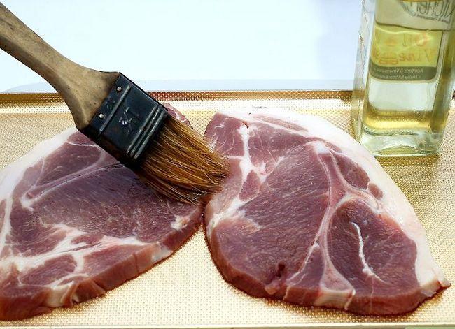 Prent getiteld Charcoal Grill Steaks Stap 4