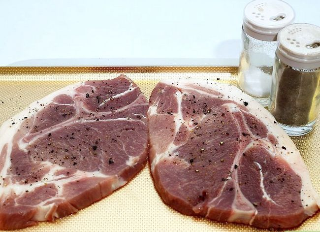 Prent getiteld Charcoal Grill Steaks Stap 5