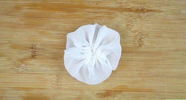 Prent getiteld Maak kunsmatige blomme Stap 29