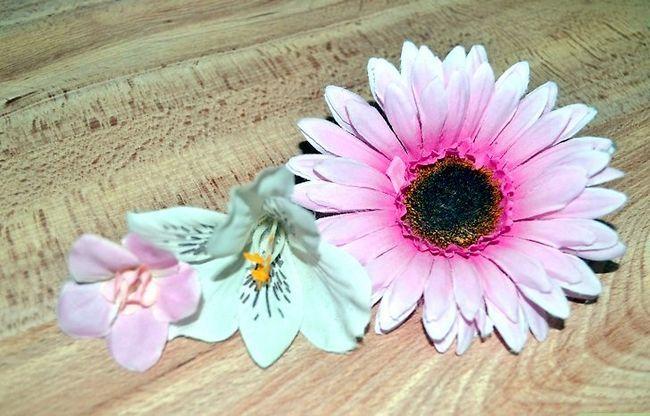 Prent getiteld Maak gevulde blomme Stap 3