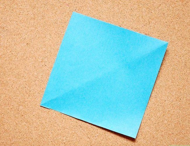 Prent getiteld Maak Origami Tropiese Blomme Stap 1