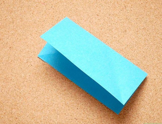 Prent getiteld Maak Origami Tropiese Blomme Stap 2