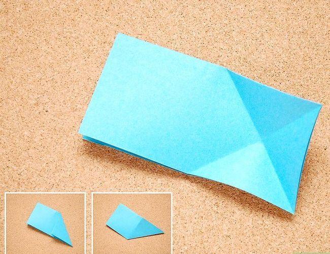 Prent getiteld Maak Origami Tropiese Blomme Stap 3