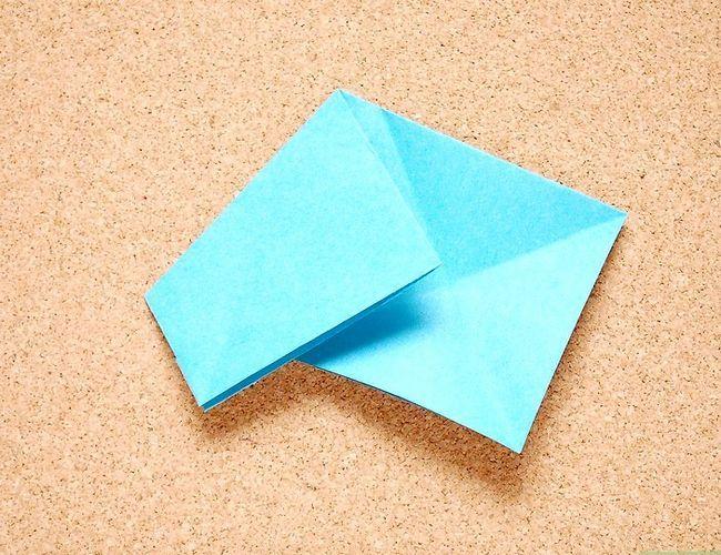 Prent getiteld Maak Origami Tropiese Blomme Stap 4
