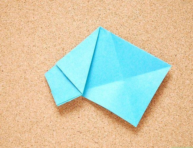 Prent getiteld Maak Origami Tropiese Blomme Stap 5