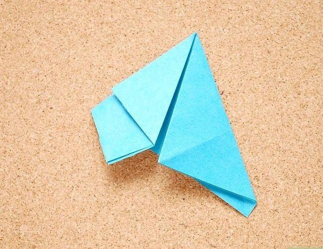Prent getiteld Maak Origami Tropiese Blomme Stap 6