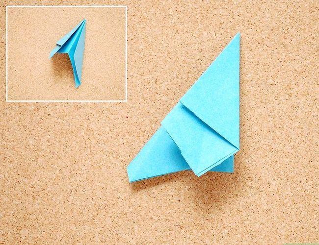 Prent getiteld Maak Origami Tropiese Blomme Stap 7