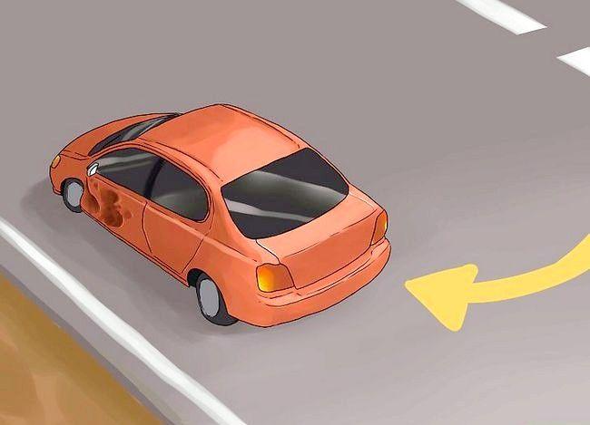 Hoe om `n geringe verkeersongeluk te hanteer