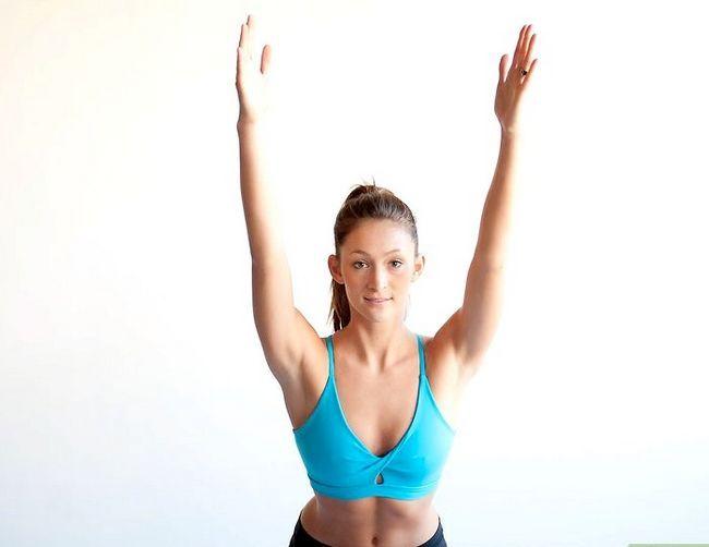 Prent getiteld Doen `n bergpos in joga Stap 11