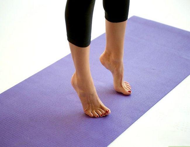 Prent getiteld Doen `n bergpos in joga Stap 3