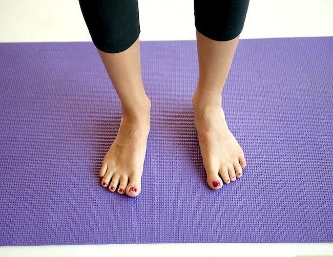 Prent getiteld Doen `n bergpos in joga Stap 4