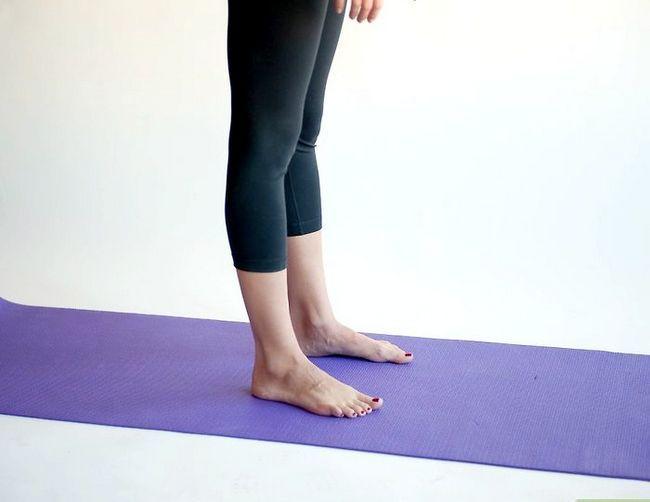 Prent getiteld Doen `n bergpos in joga Stap 10