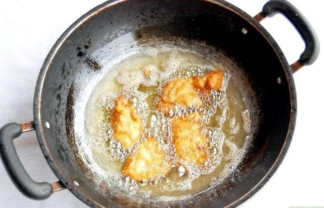Prent getiteld Make Chicken Nuggets Stap 5