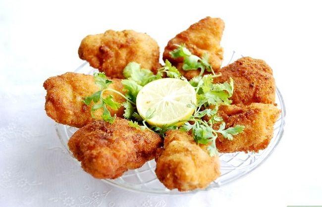 Prent getiteld Make Chicken Nuggets Stap 7