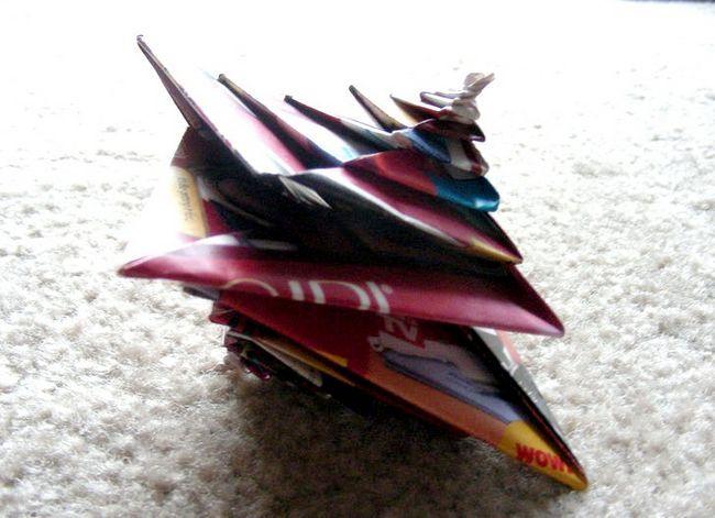 Prent getiteld Origami Espiral (Ontwerp deur Tomoko Fuse)
