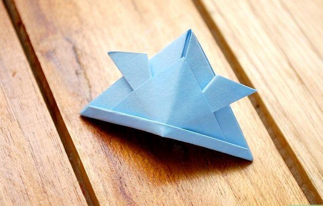 Prent getiteld Maak `n Origami Samurai Helm Intro