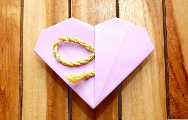 Prent getiteld Maak `n Origami Pocket Heart Intro