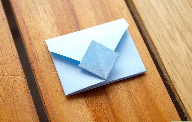 Prent getiteld Vou `n Origami Envelope Intro