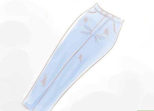 Prent getiteld Maak High Waisted Shorts Stap 1