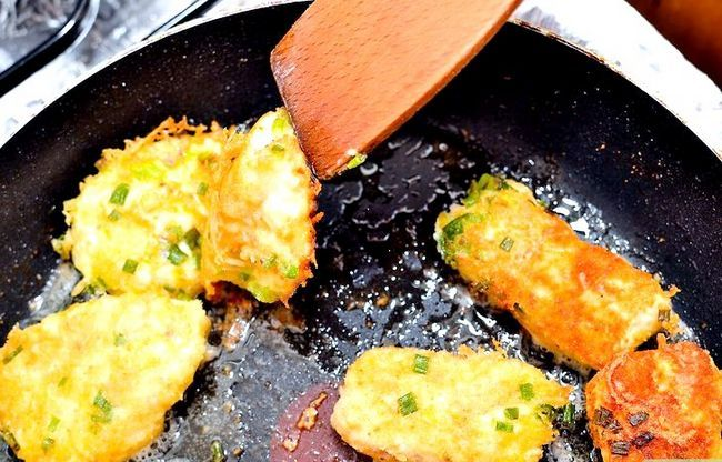 Prent getiteld Maak Sauteed Chicken Stap 30