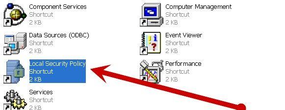 Prentjie getiteld `n Gebruikersooreenkoms word vertoon by opstarten in Windows XP Stap 2