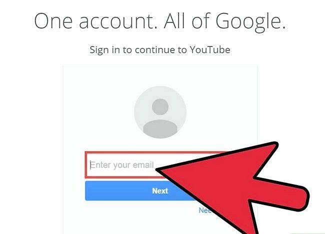 Prent getiteld Maak jou YouTube-kanaal meer populêre stap 1