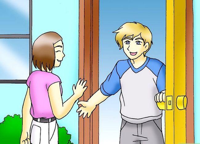 Prent getiteld Maak jou vriendin Wil tyd saam met jou spandeer Stap 10