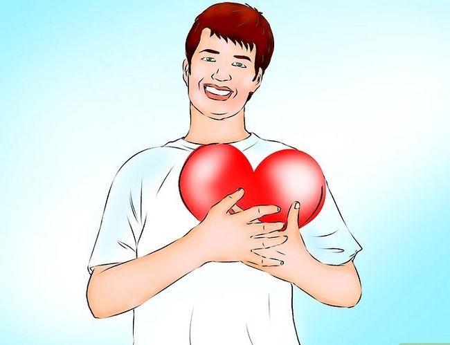 Prent getiteld Maak jou vriendin voel geliefde Stap 4
