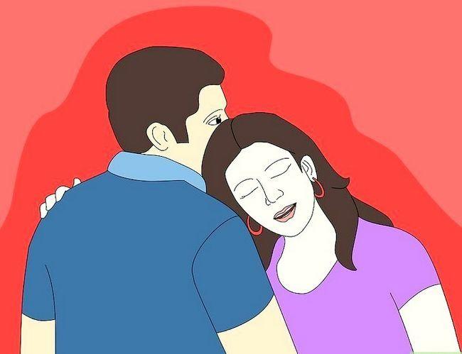 Prent getiteld Maak jou vriendin voel gemaklik Stap 1