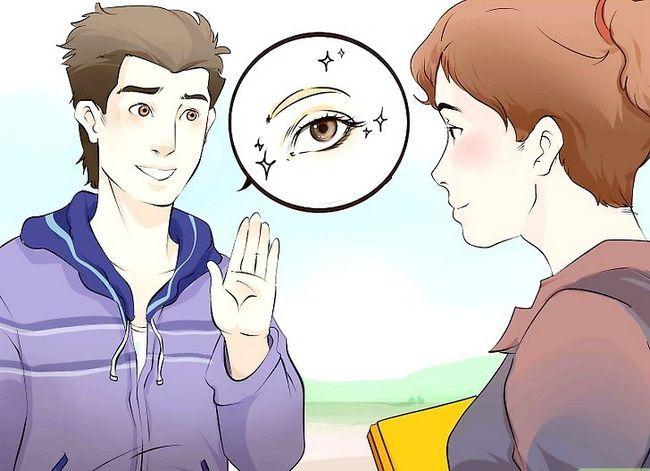 Prent getiteld Kry jou kêrel of vriendin om jou eerste stap 11 te kus